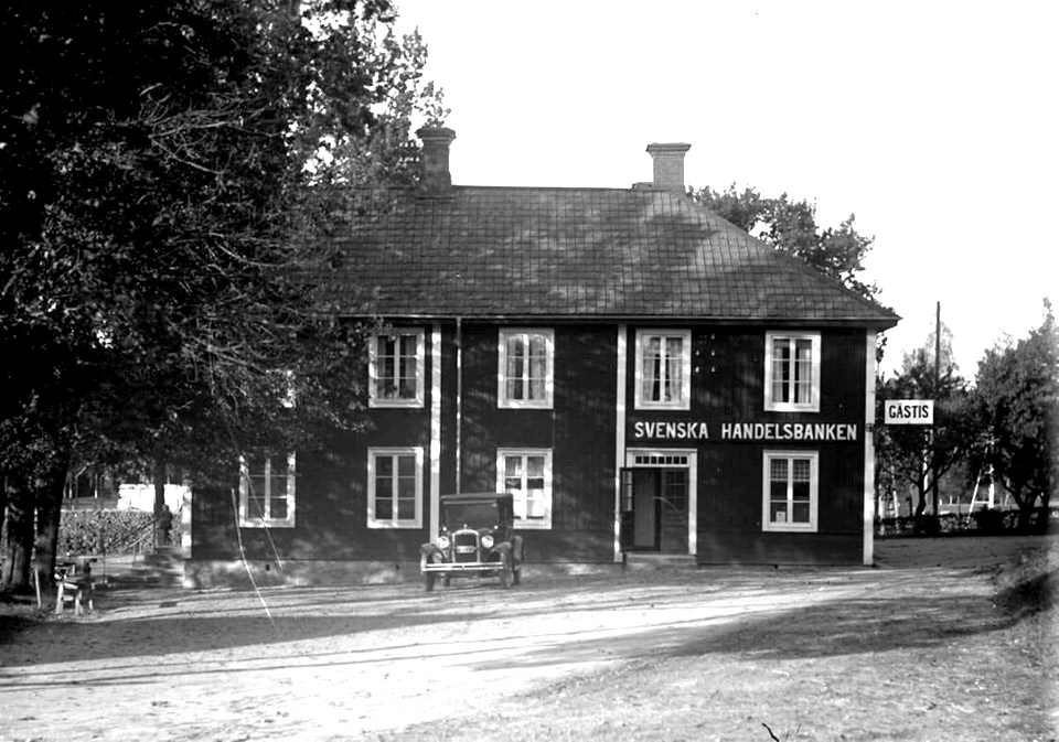 Stockholm. Stockholms telegrafstation i början av 1900