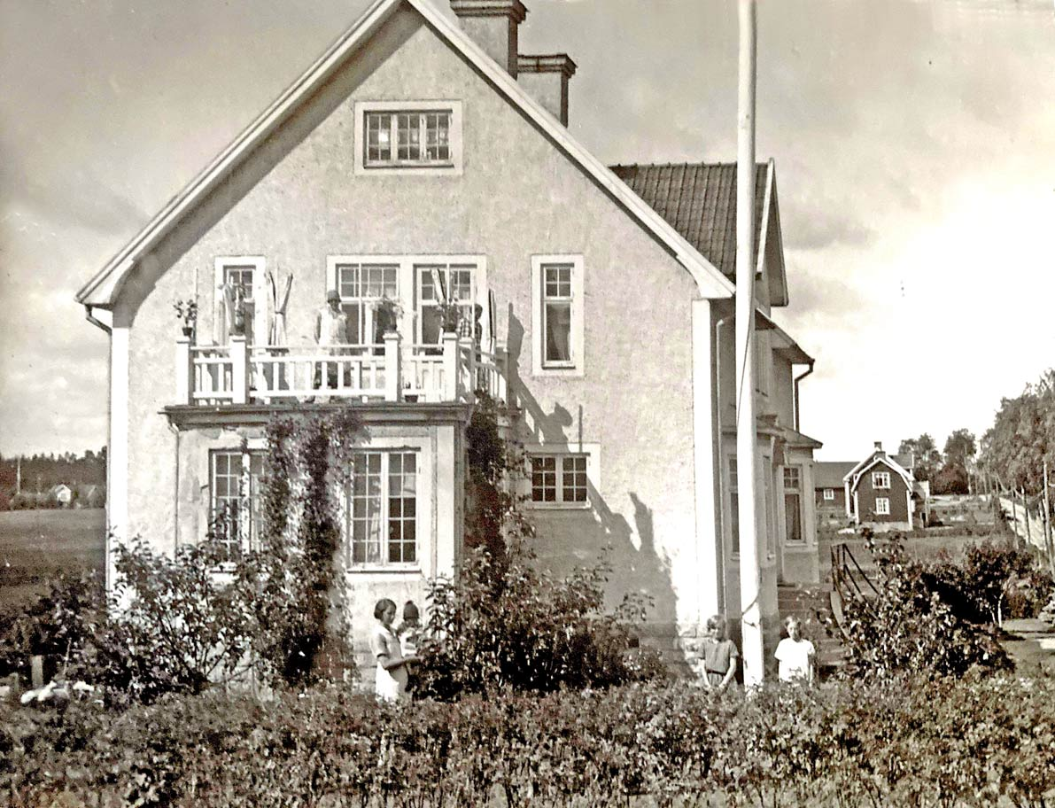 Mölltorps marknad i början av 1900-talet. Förstoring 35 x